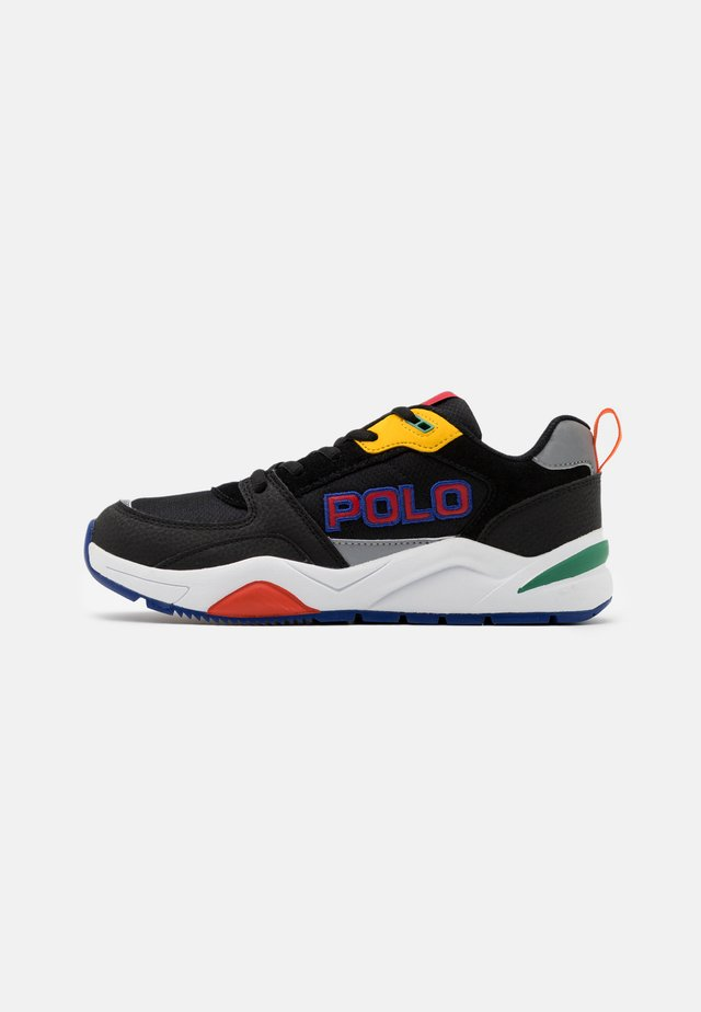 CHANING - Trainers - black/red /yellow