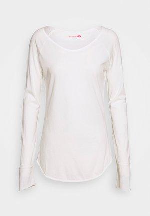 KARANI - Langarmshirt - white