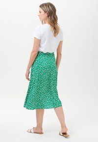 Sugarhill Brighton - ROSANNA PAINTERLY SPOT - A-line skirt - green - 1