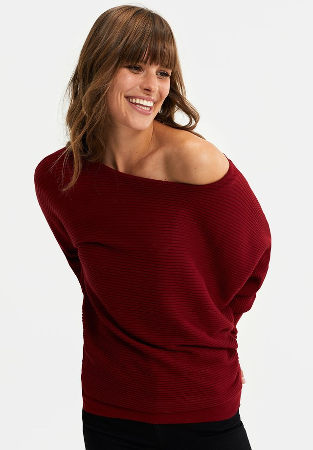 Pullover - vintage red