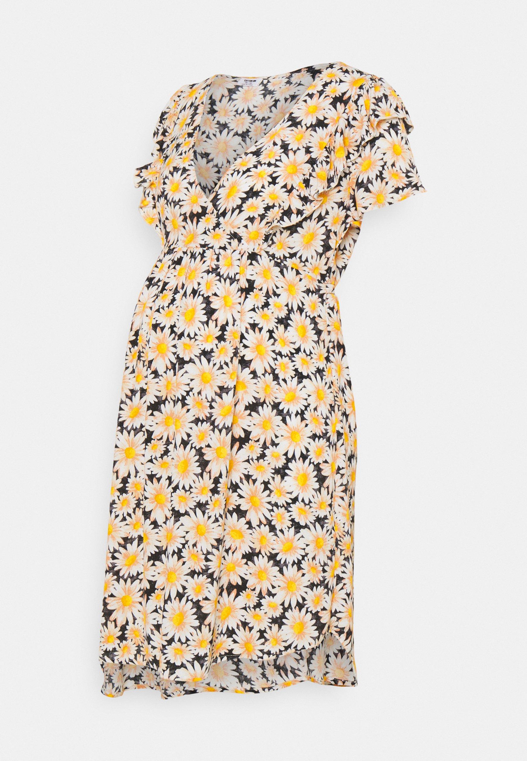 Women CROSS FRONT BABYDOLL DRESS - Day dress