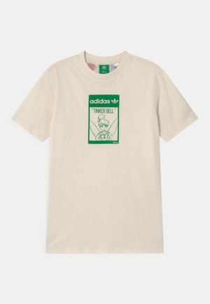 STAN SMITH TINKERBELL  - T-shirt con stampa - off-white/green