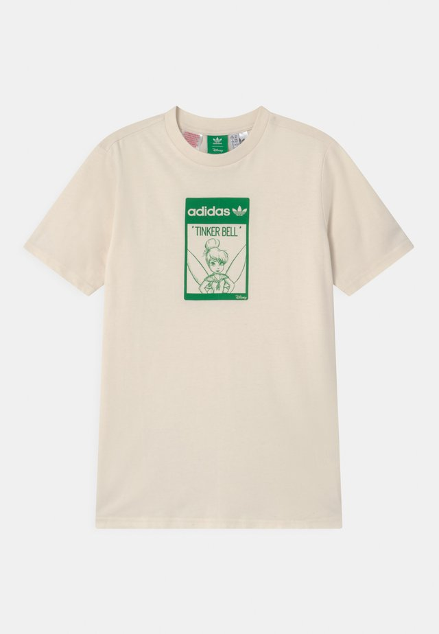 STAN SMITH TINKERBELL  - Print T-shirt - off-white/green