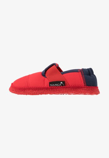 KLETTE  - Slippers - rot