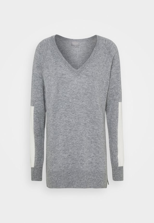 CUALLI  - Maglione - light grey melange