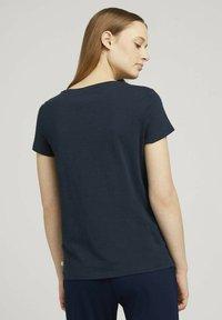 TOM TAILOR DENIM - Print T-shirt - sky captain blue - 2