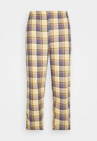 Vintage Supply - RELAXED TROUSER IN PASTEL CHECK UNISEX - Pantalon classique - multi - 0