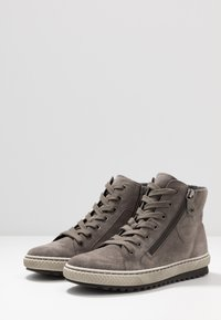 Gabor - High-top trainers - wallaby - 4