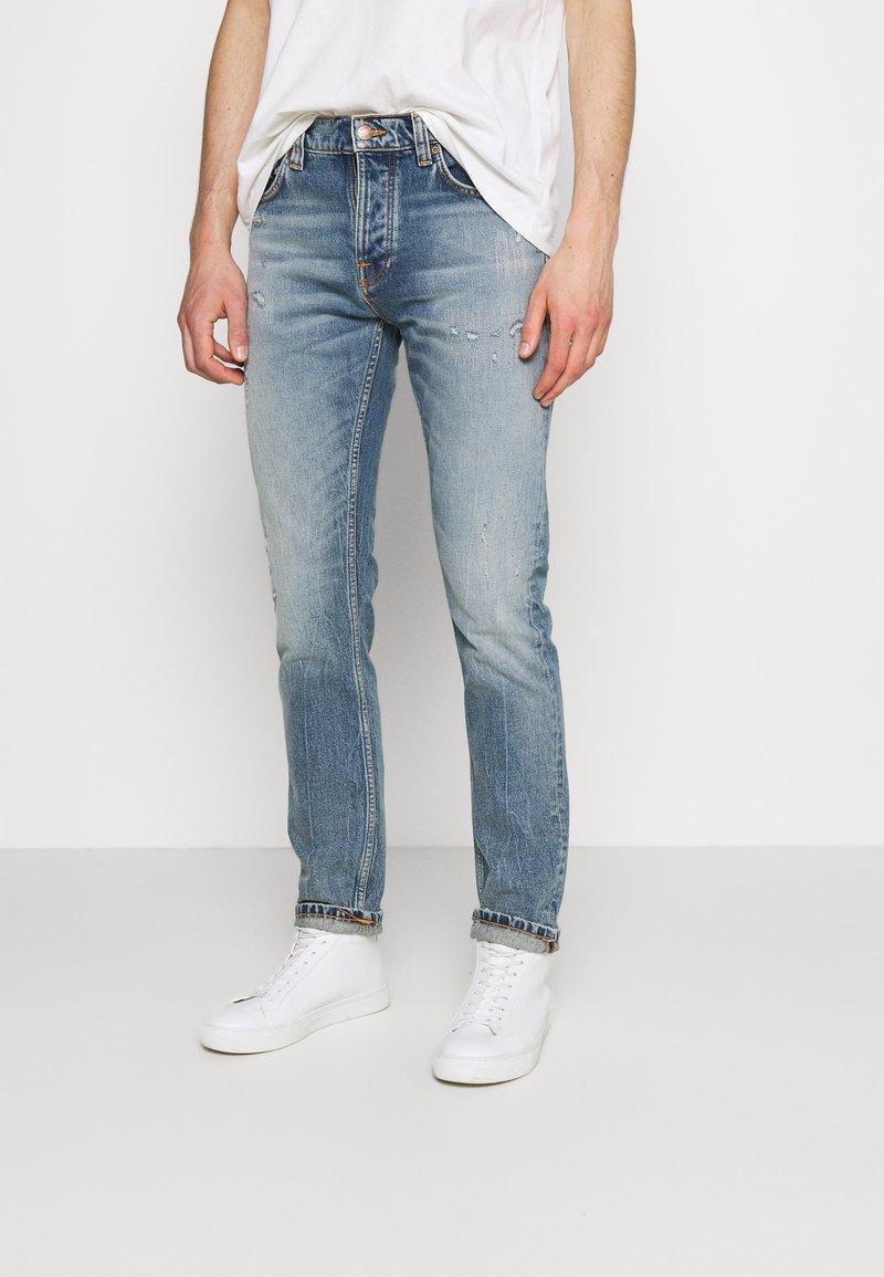 Nudie Jeans - GRIM TIM - Jeans slim fit - worn blues