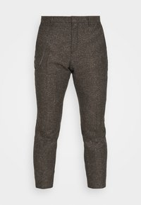 Shelby & Sons - STANLEY TROUSER - Trousers - brown - 4