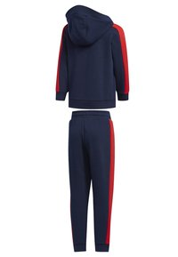 adidas Performance - GRAPHIC HOODIE SET - Tracksuit - blue - 1