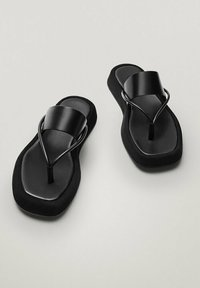 Massimo Dutti - LIMITED EDITION - T-bar sandals - black - 3