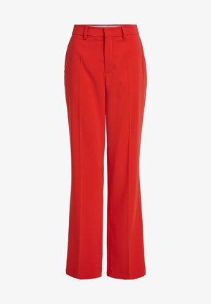 Trousers - racing red
