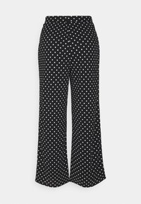 ONLY Petite - ONLPELLA PANTS - Broek - black/cloud dancer - 0