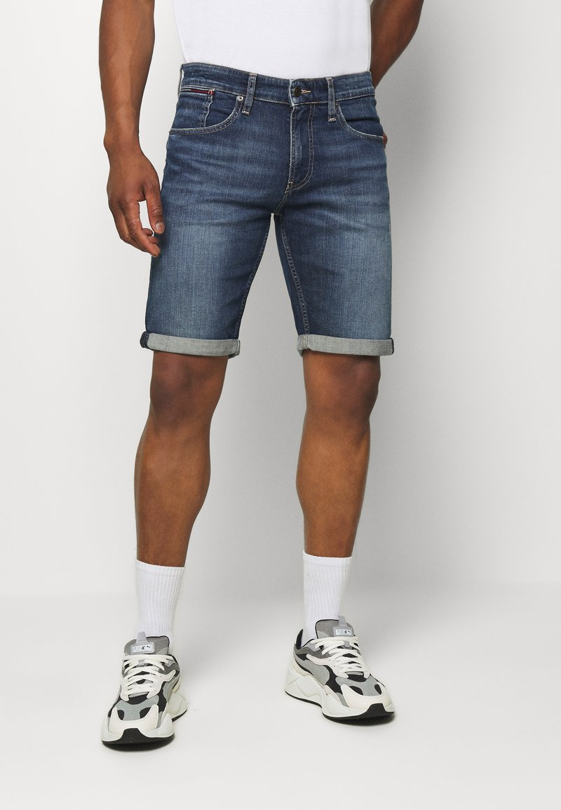 Tommy Jeans - Denim shorts - blue denim