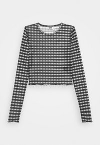 SENA LONG SLEEVE - Long sleeved top - black/grey