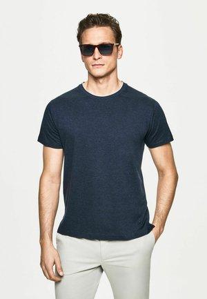 Basic T-shirt - dk navy