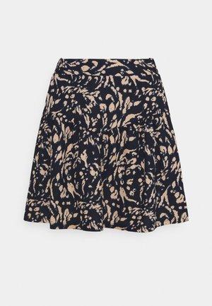 VMHAILEY SKIRT - Mini skirt - navy blazer