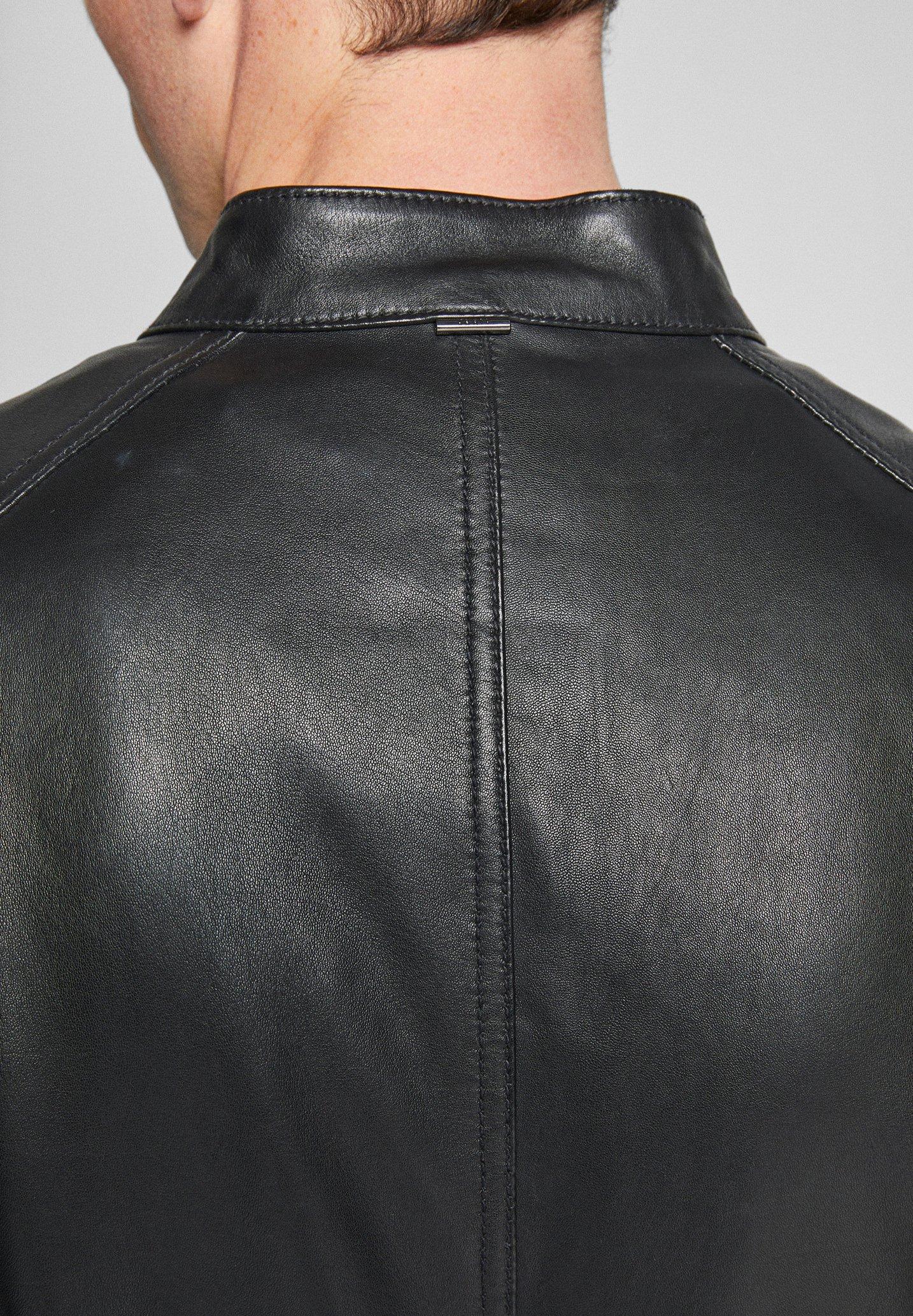 JOOP! PEEL - Veste en cuir - schwarz