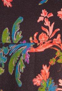 Ivko - PRINTED DRESS FLORAL PATTERN - Strikket kjole - brown/red - 2