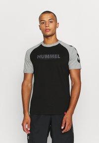 Hummel - T-shirts print - black - 0