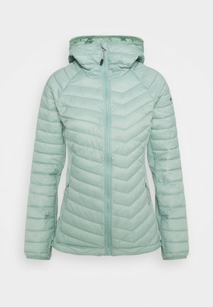 POWDER LITE LIGHT HOODED JACKET - Chaqueta outdoor - aqua tone
