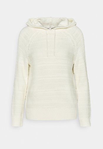 STRUCTURED - Hoodie - off white