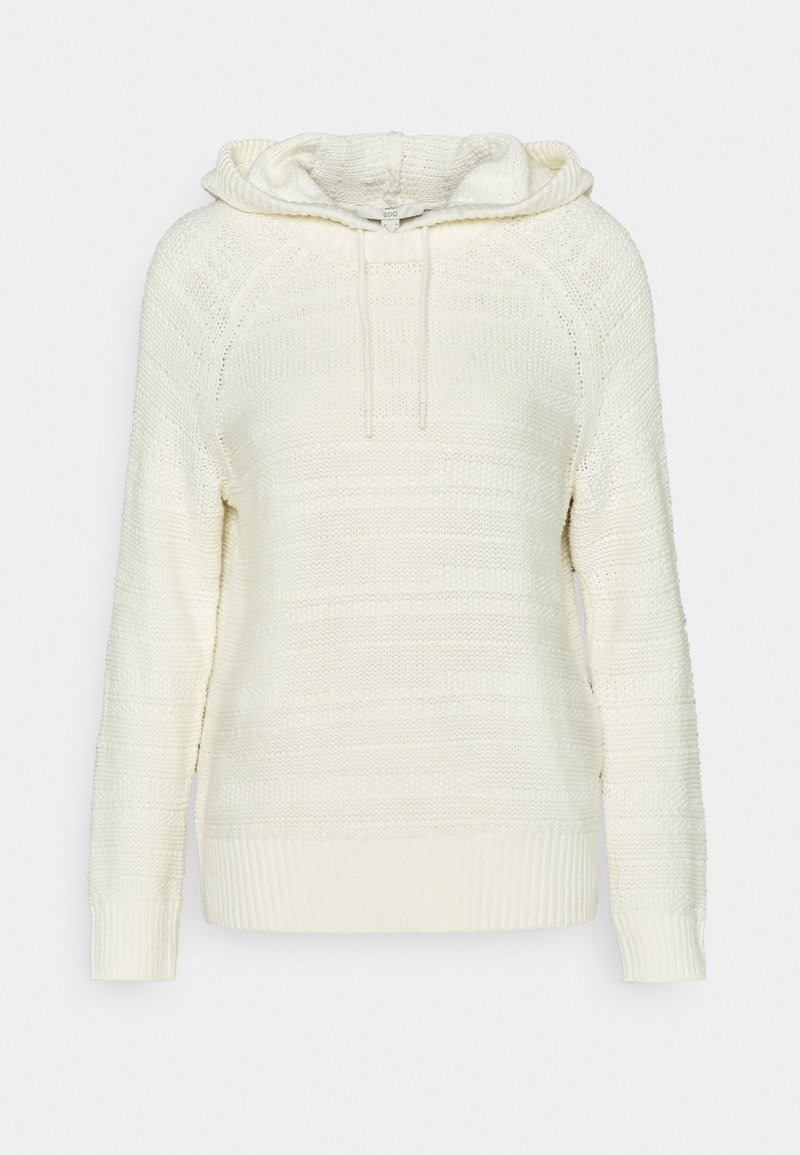 edc by Esprit - STRUCTURED - Hoodie - off white
