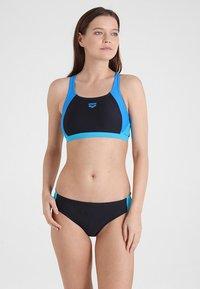 Arena - TWO PIECE SET - Bikini - black/pix blue/turquoise - 1