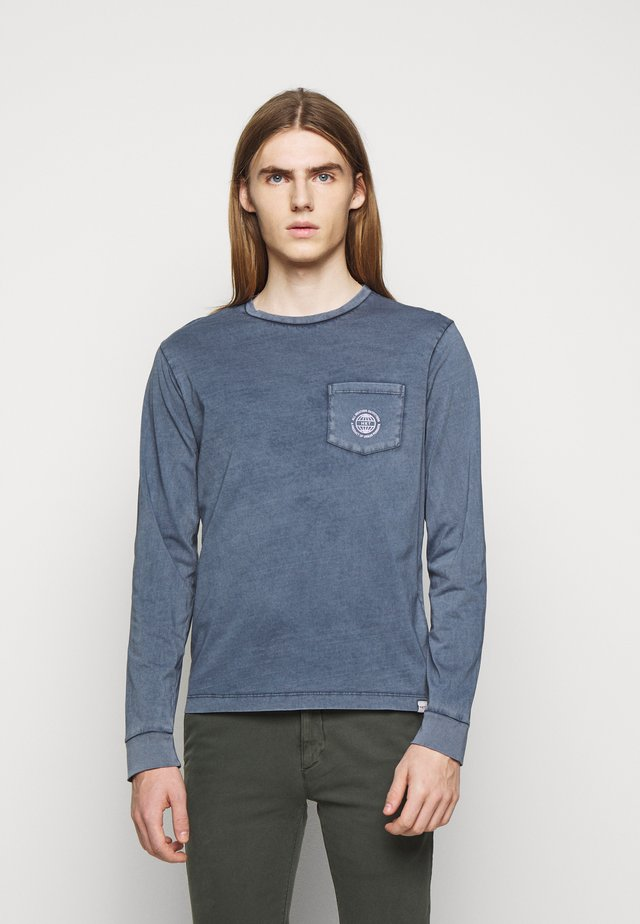 POCKET TEE - Long sleeved top - royal navy