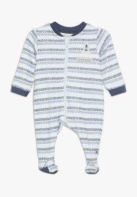 Jacky Baby - SCHLAFANZUG COUCOU MON PETIT - Pyžamo - blue - 0