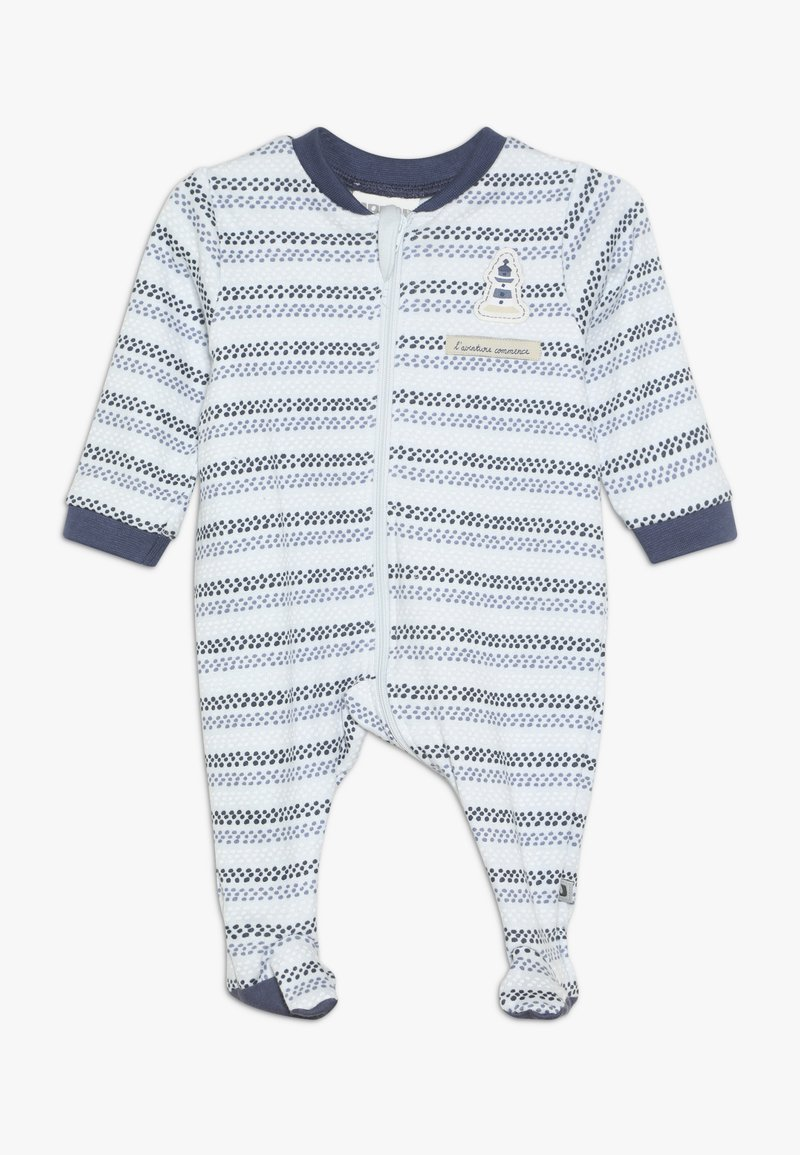 Jacky Baby - SCHLAFANZUG COUCOU MON PETIT - Pyžamo - blue