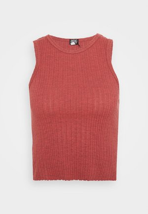 HIGH TANK - Top - mineral red