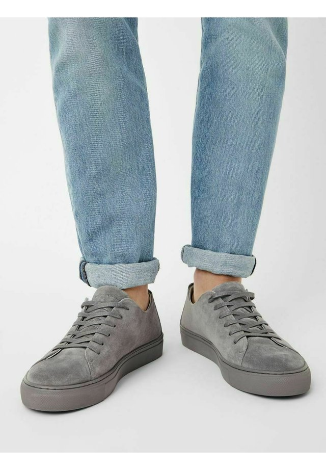 BIAAJAY LEATHER SNEAKER - Sneakers laag - lightgrey1