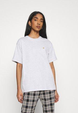 CHASE - Basic T-shirt - ash heather / gold