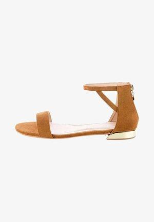 IRAMI - Sandals - brown