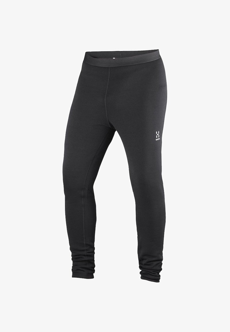 Haglöfs - HAGLÖFS FUNKTIONSUNTERWÄSCHE BUNGY TIGHTS MEN - Base layer - true black