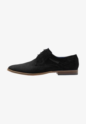 LUCIUS - Smart lace-ups - black