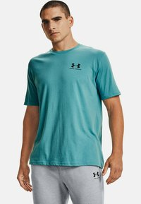 Under Armour - SPORTSTYLE  - T-shirts print - cosmos - 0
