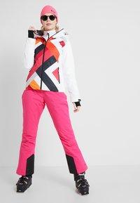 CMP - WOMAN JACKET FIX HOOD - Skijakke - bianco - 1