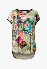 Desigual - COLOMBIA - Print T-shirt - brown - 4