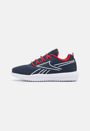 FLEXAGON ENERGY KIDS UNISEX - Sports shoes - vector navy/vector red/footwear white