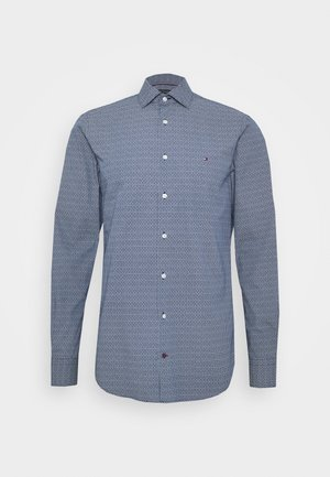 PRINT SLIM FIT - Shirt - blue