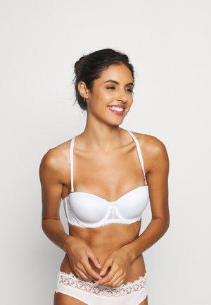 LIANNE FLORAL - Balconette bra - white