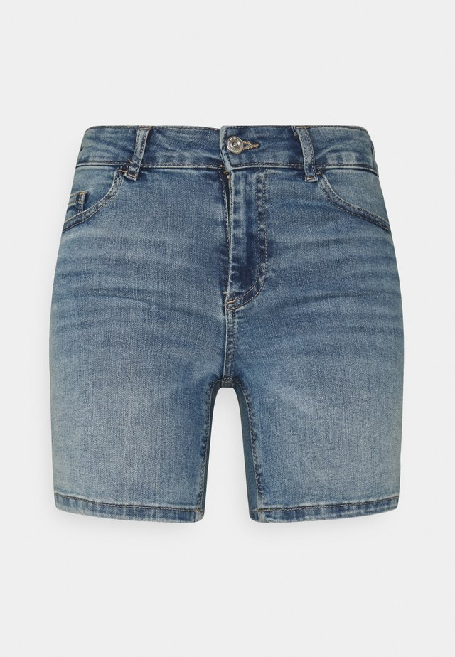 ONLBLUSH MID - Shorts di jeans - light blue denim