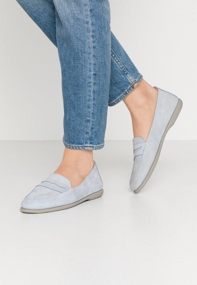 Slippers - celeste