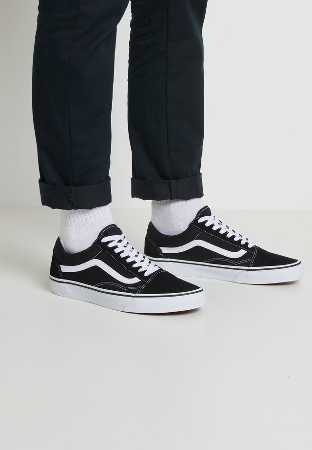 OLD SKOOL - Zapatillas skate - black