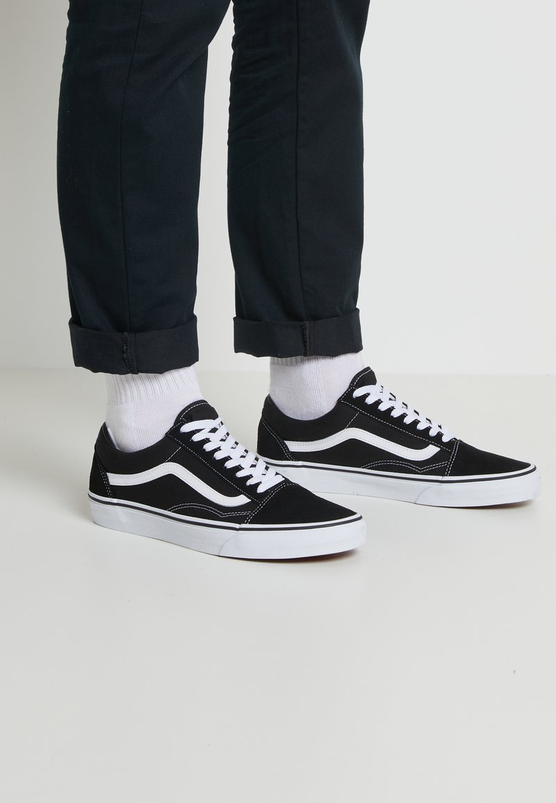 Vans - OLD SKOOL - Skateskor - black