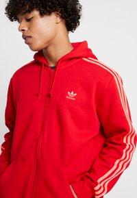 adidas Originals - 3-STRIPES - Sweatjakke /Træningstrøjer - scarlet - 3