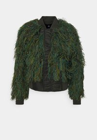 G-Star - GILLIE - Bomberjacks - green camo fringe - 5
